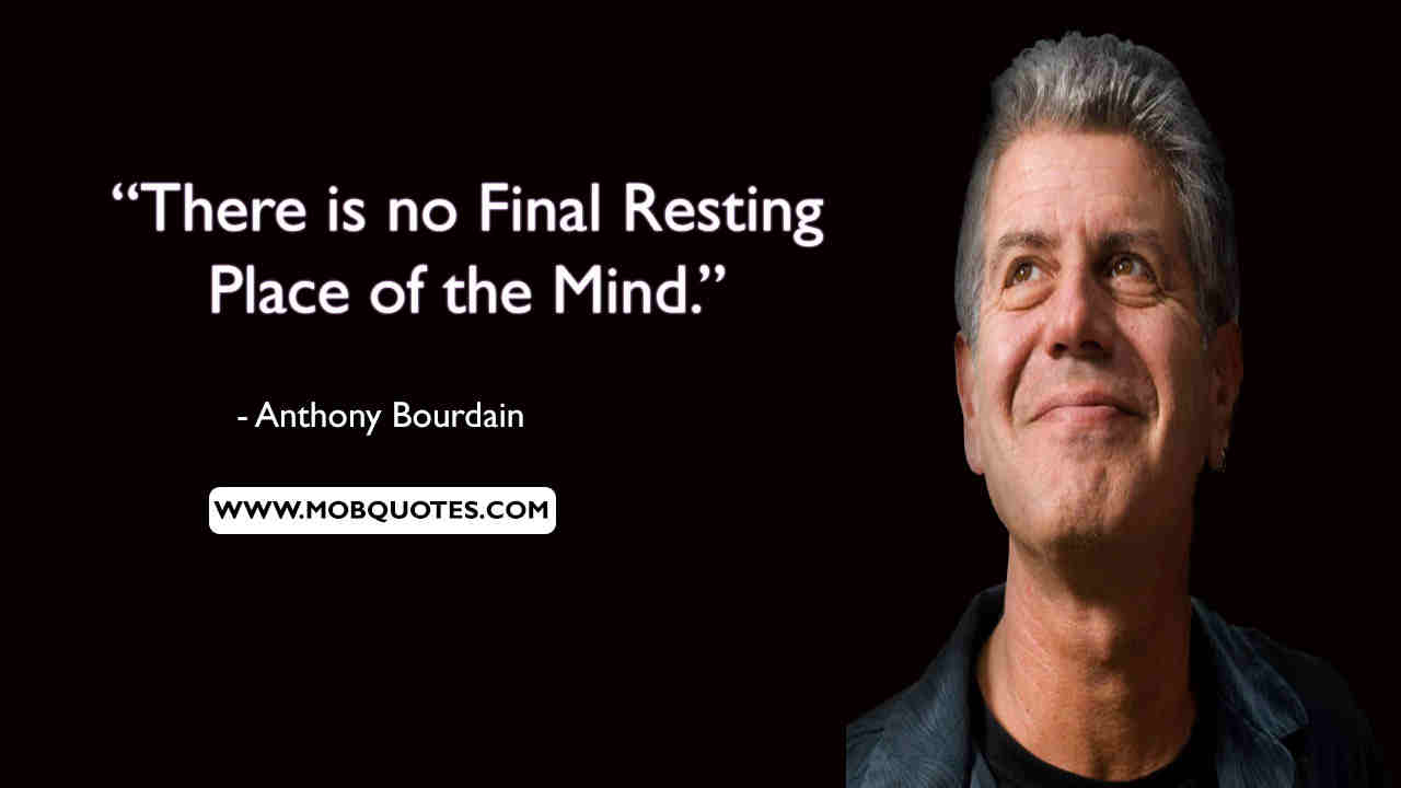 Anthony Bourdain Quotes Travel