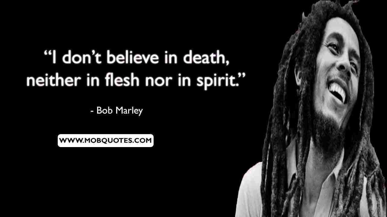 Bob Marley Summer Quotes
