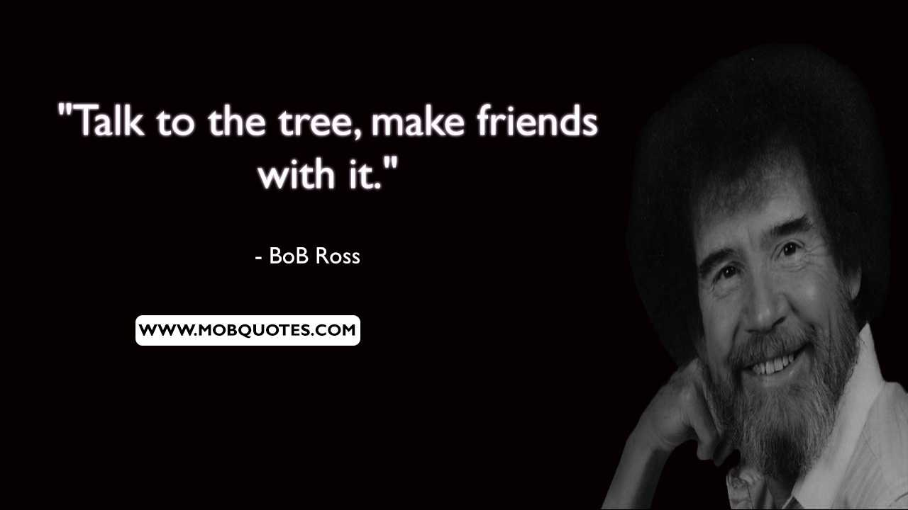 Bob Ross Motivation