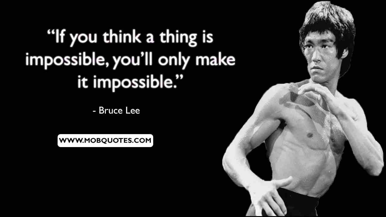 Bruce Lee Learning Quote