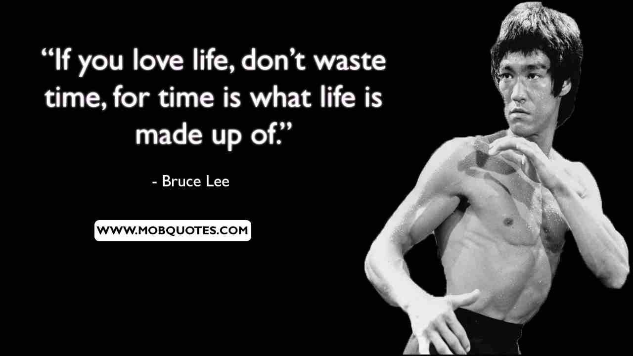 Bruce Lee Quotes Emotional Reactions