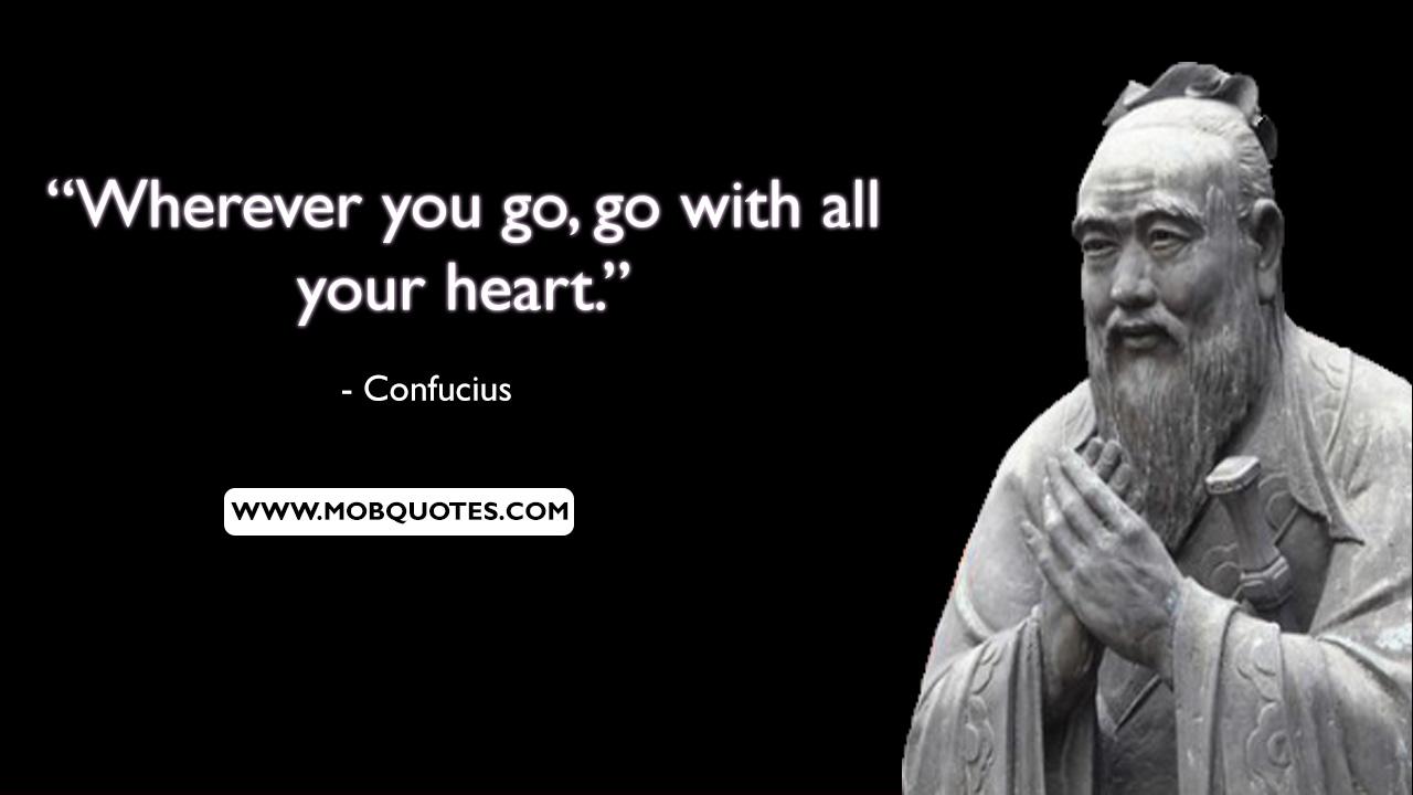 Confucius Quotes About Morals