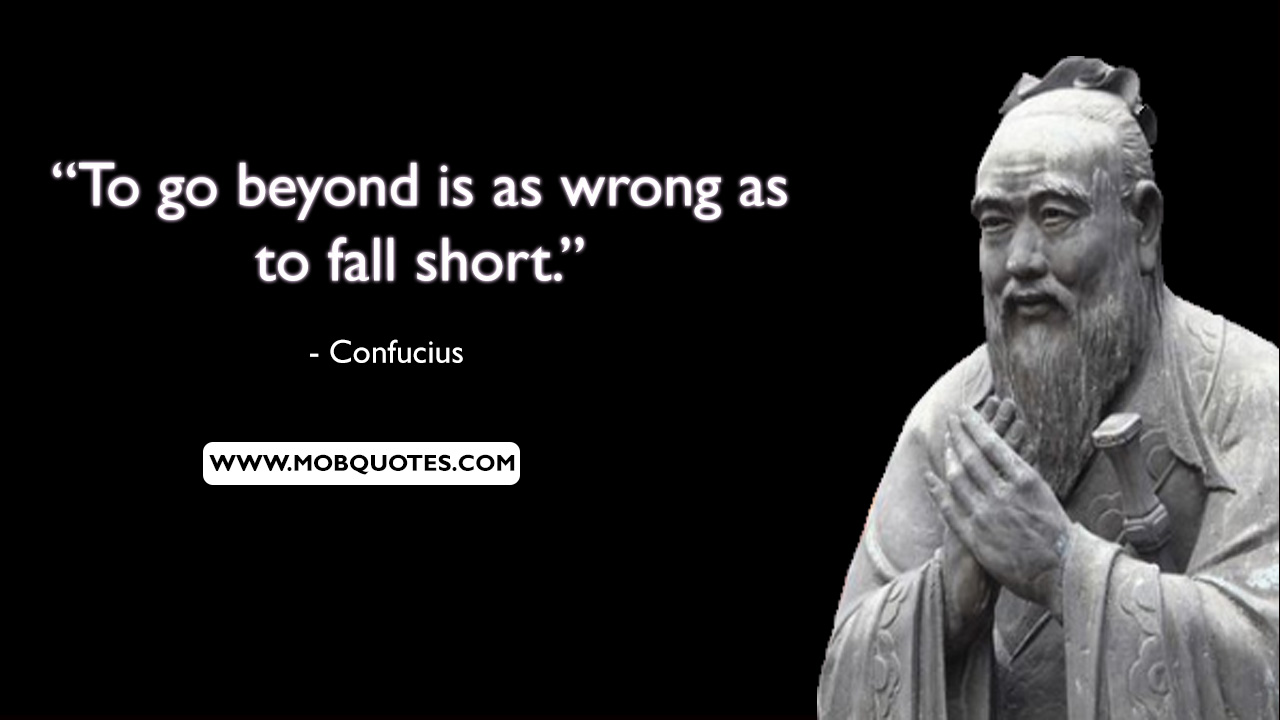 Confucius Quotes Two Lives