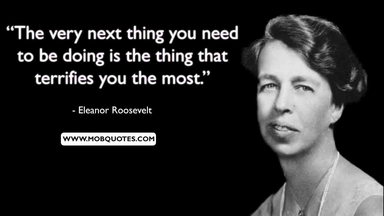 Eleanor Roosevelt Quote Great Minds