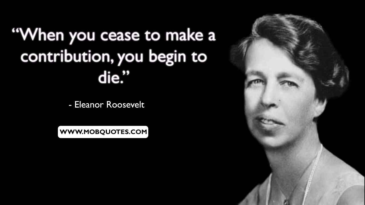 Eleanor Roosevelt Quotes Marines