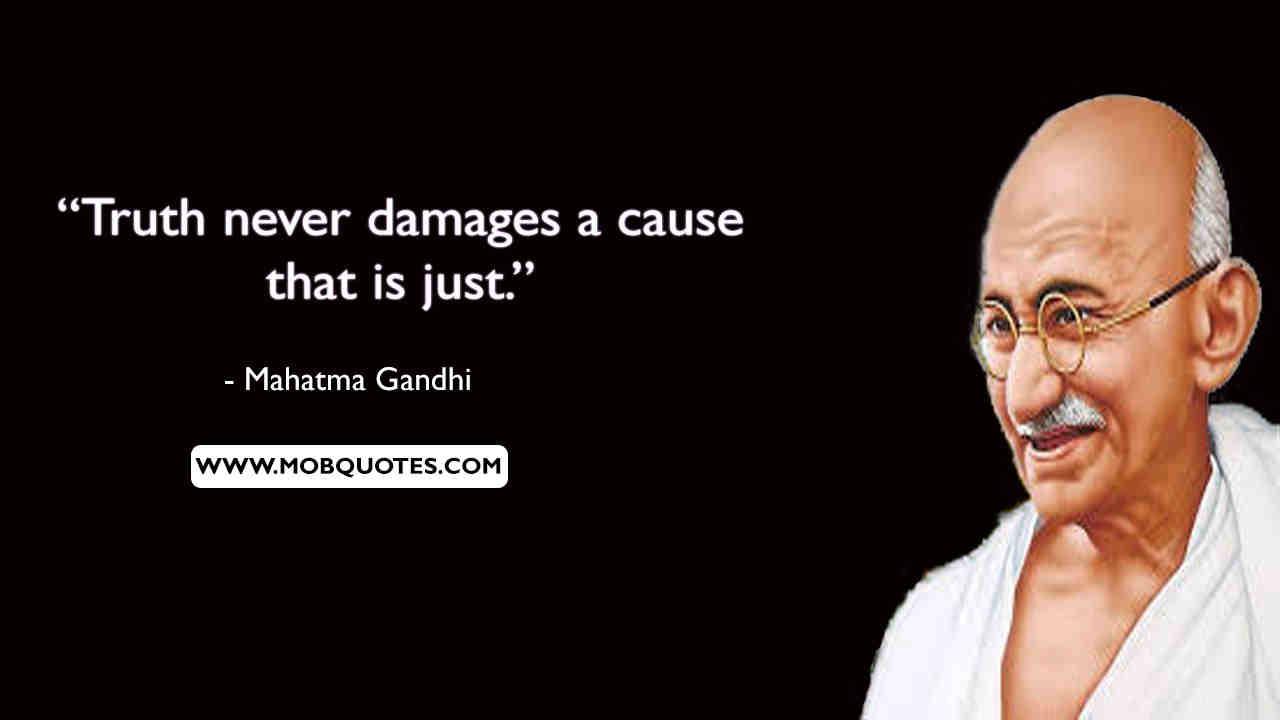 Gandhi Quotes Leadership