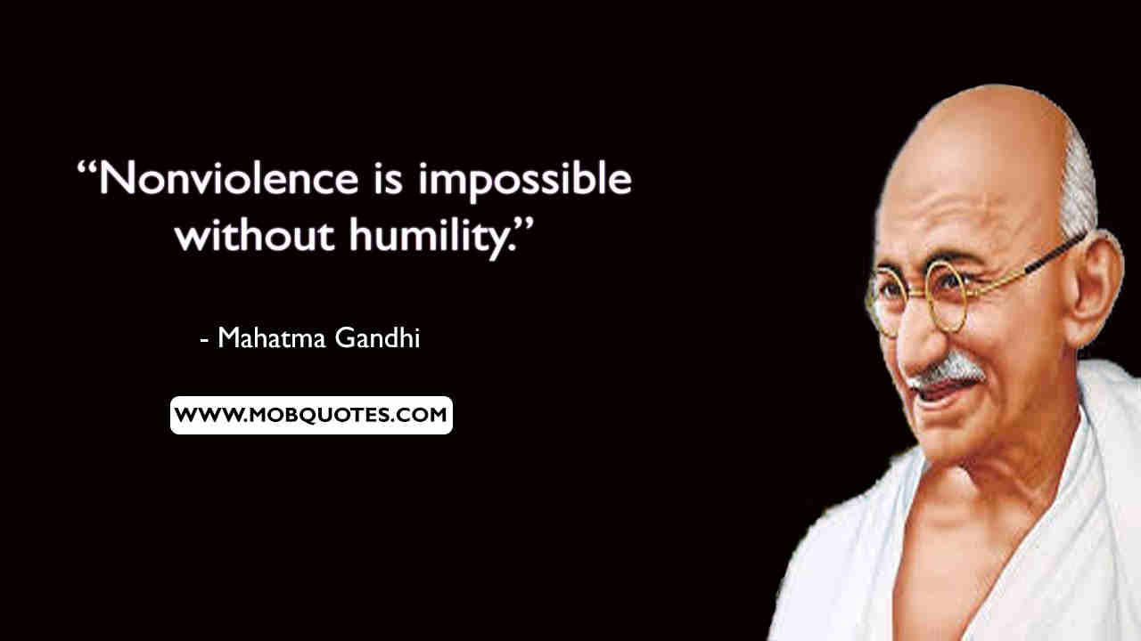 Gandhi Quotes Violence