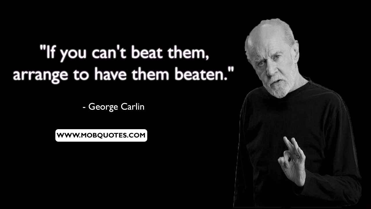 George Carlin Sports Quotes