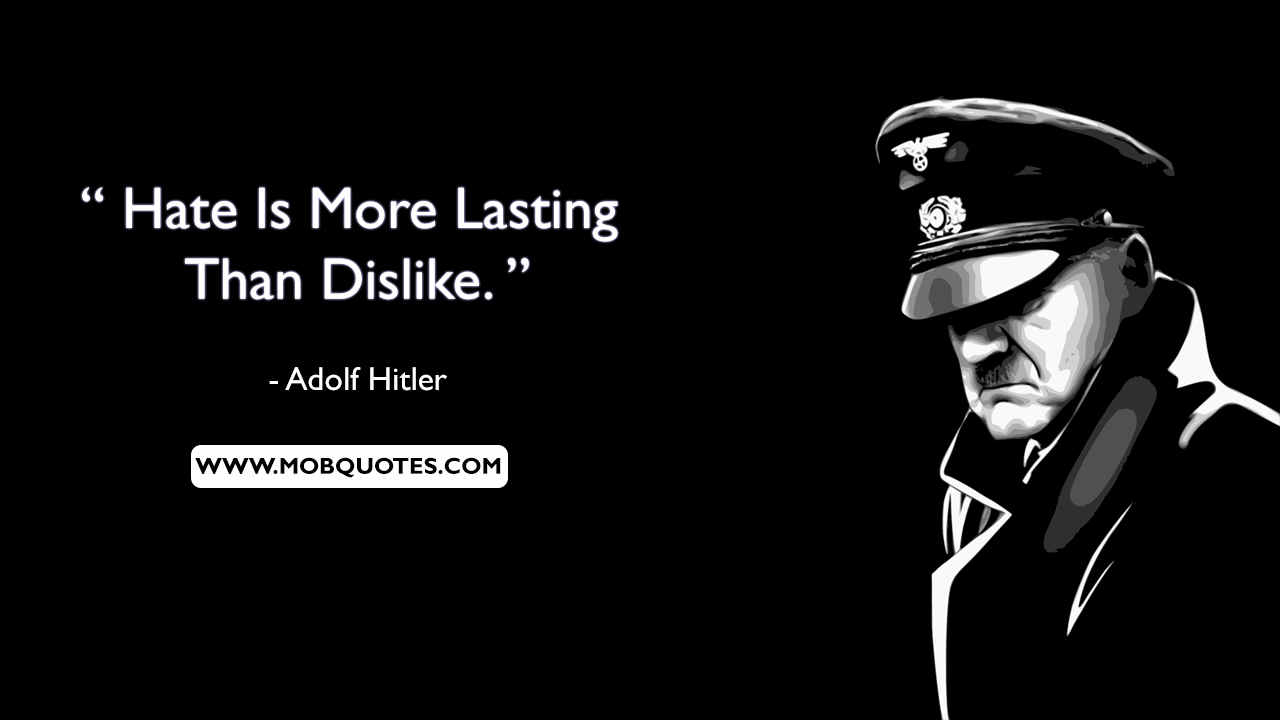 Hitler Quotes On Politics