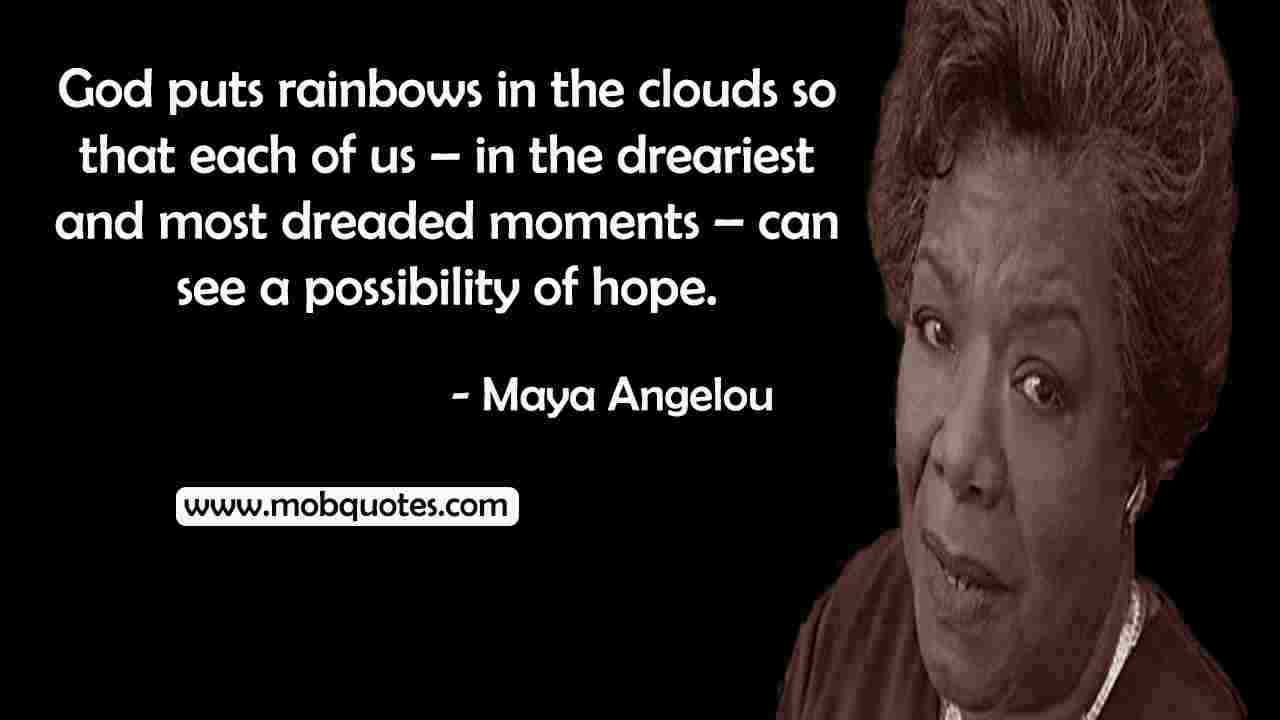 MAYA ANGELOU QUOTES ABOUT RELIGION
