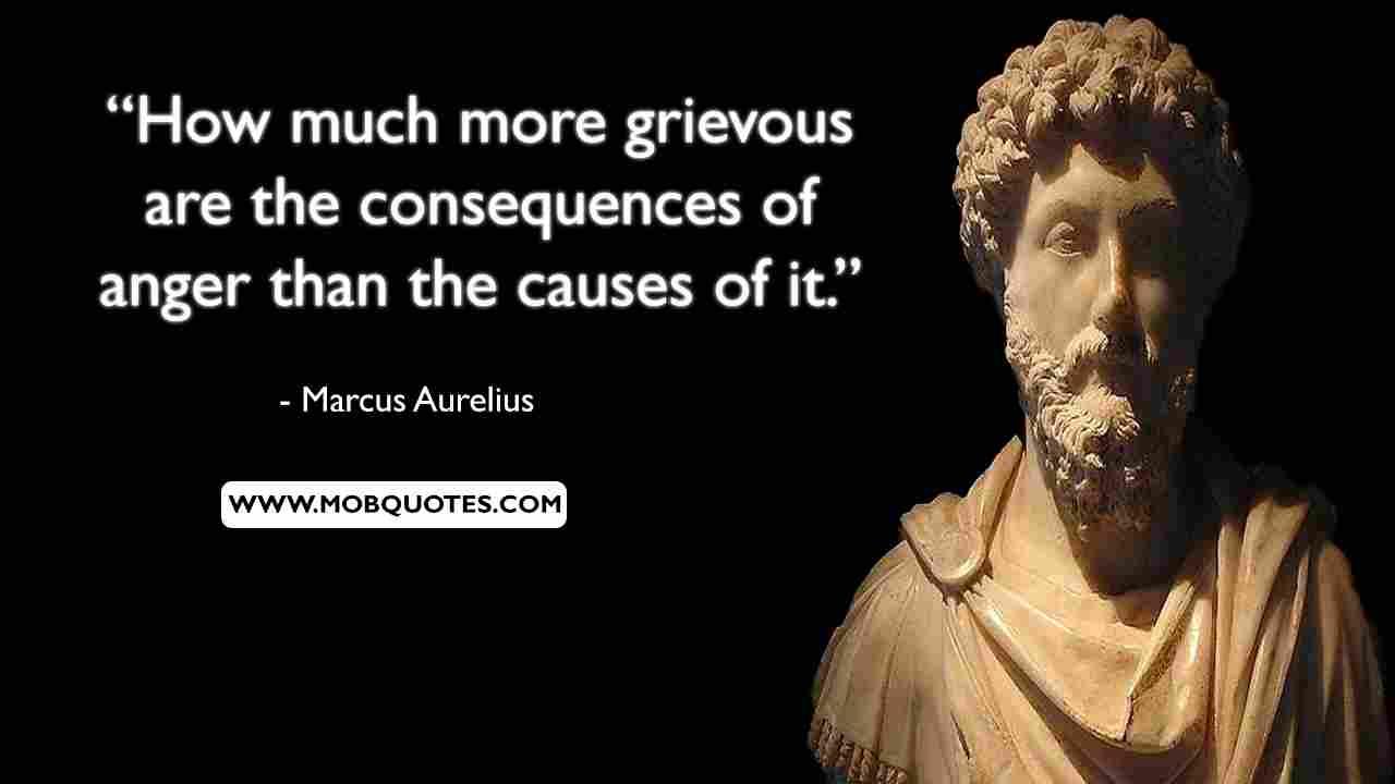 Marcus Aurelius Anger Quote