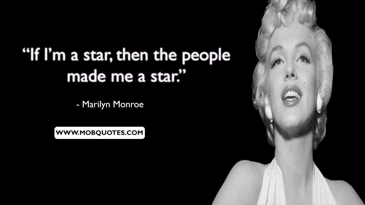 Marilyn Monroe Movie Quotes