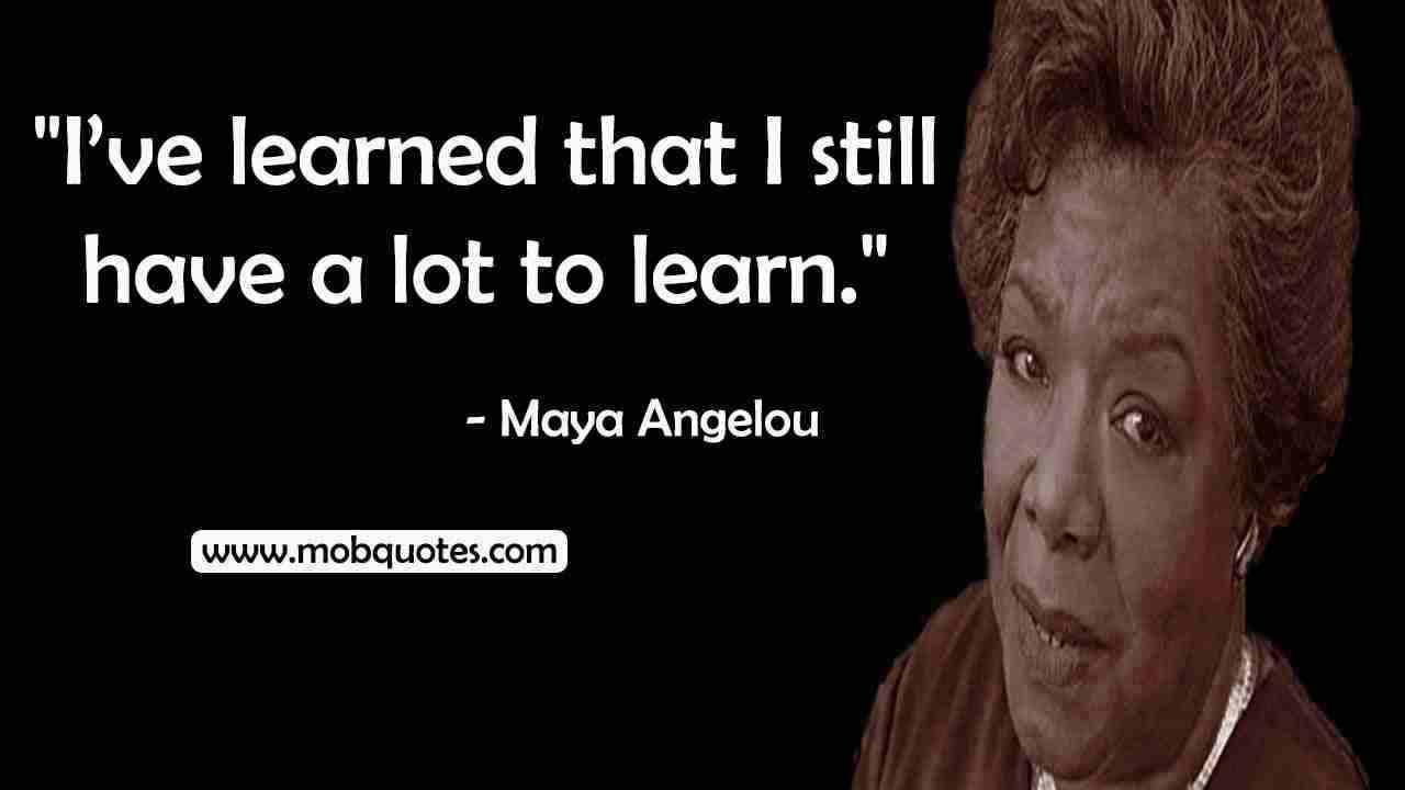 Maya Angelou best lines