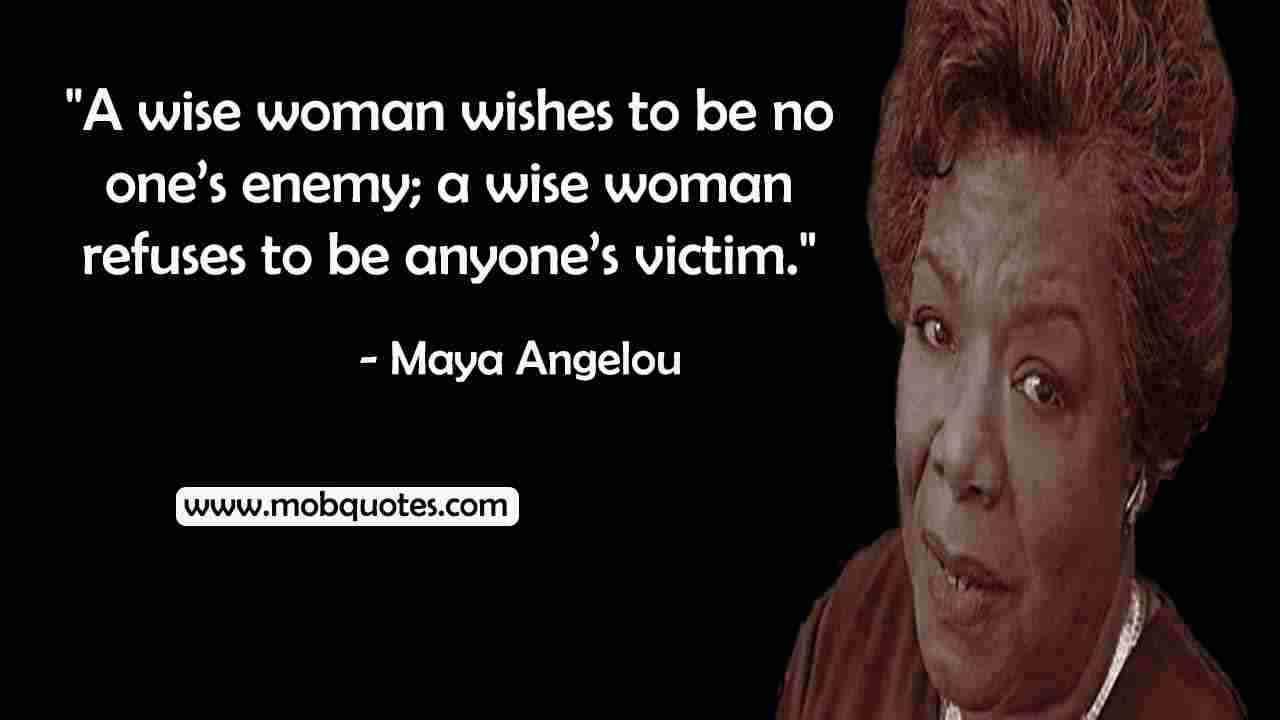 Maya Angelou quotes on womanhood