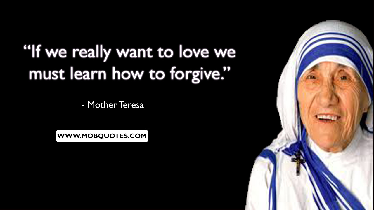 Mother Teresa Quotes About Mothers