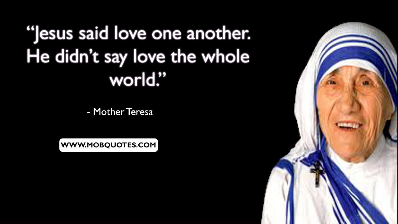 Mother Teresa Quotes Prayer