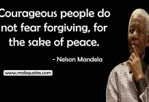 Nelson Mandela Courage Quote
