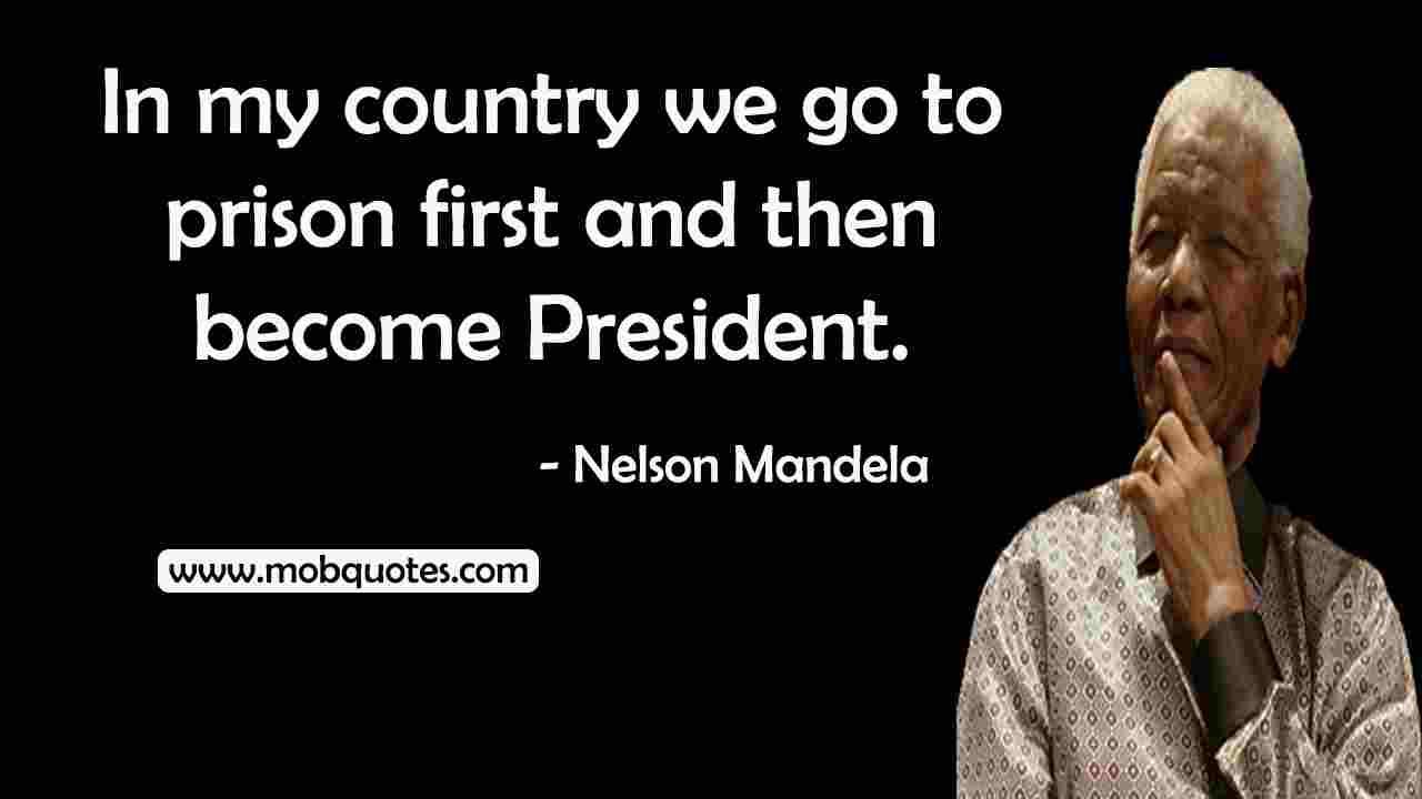 Nelson Mandela Quotes I Am The Captain
