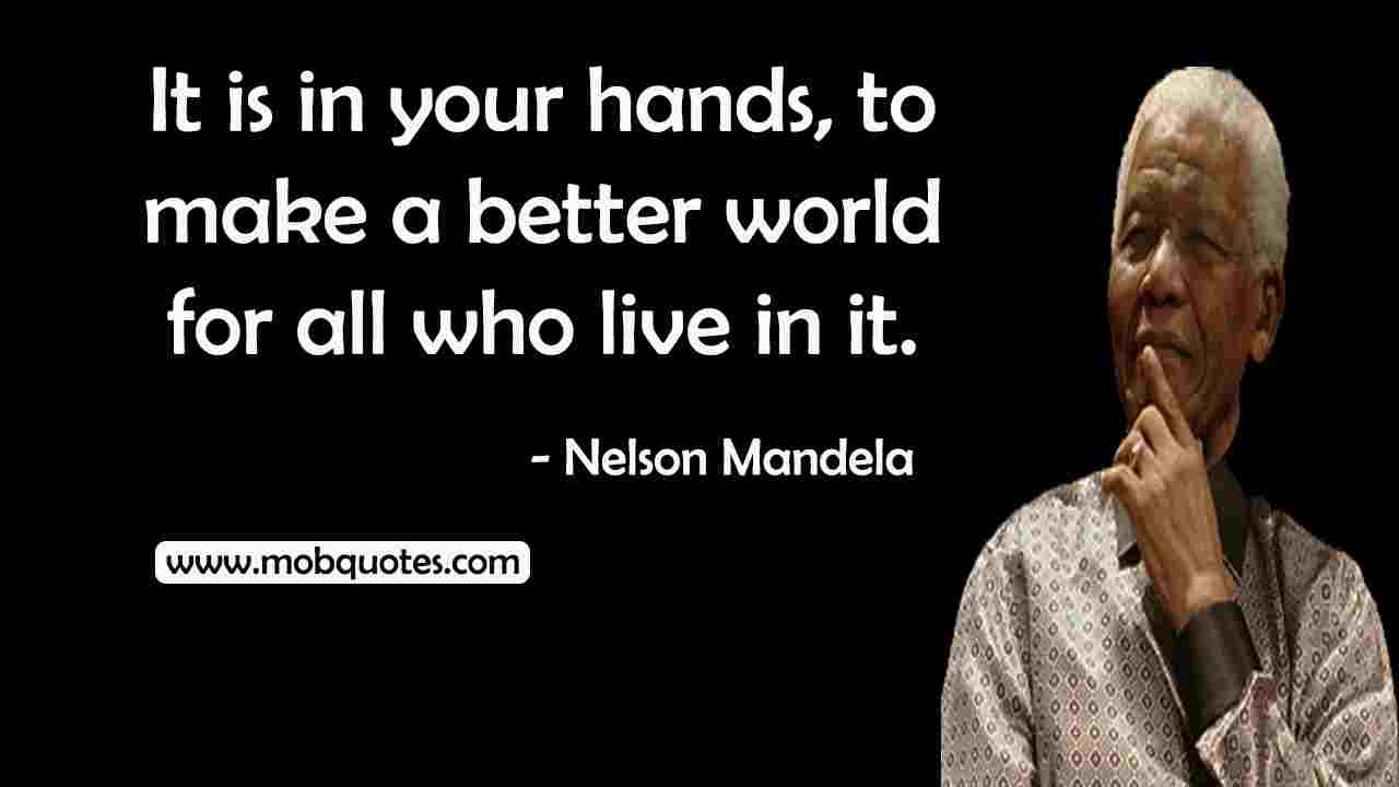 Nelson Mandela Quotes Our Deepest Fear