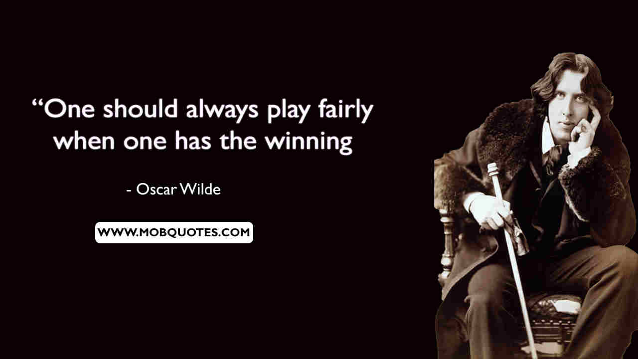 Oscar Wilde Quotes About Marriage