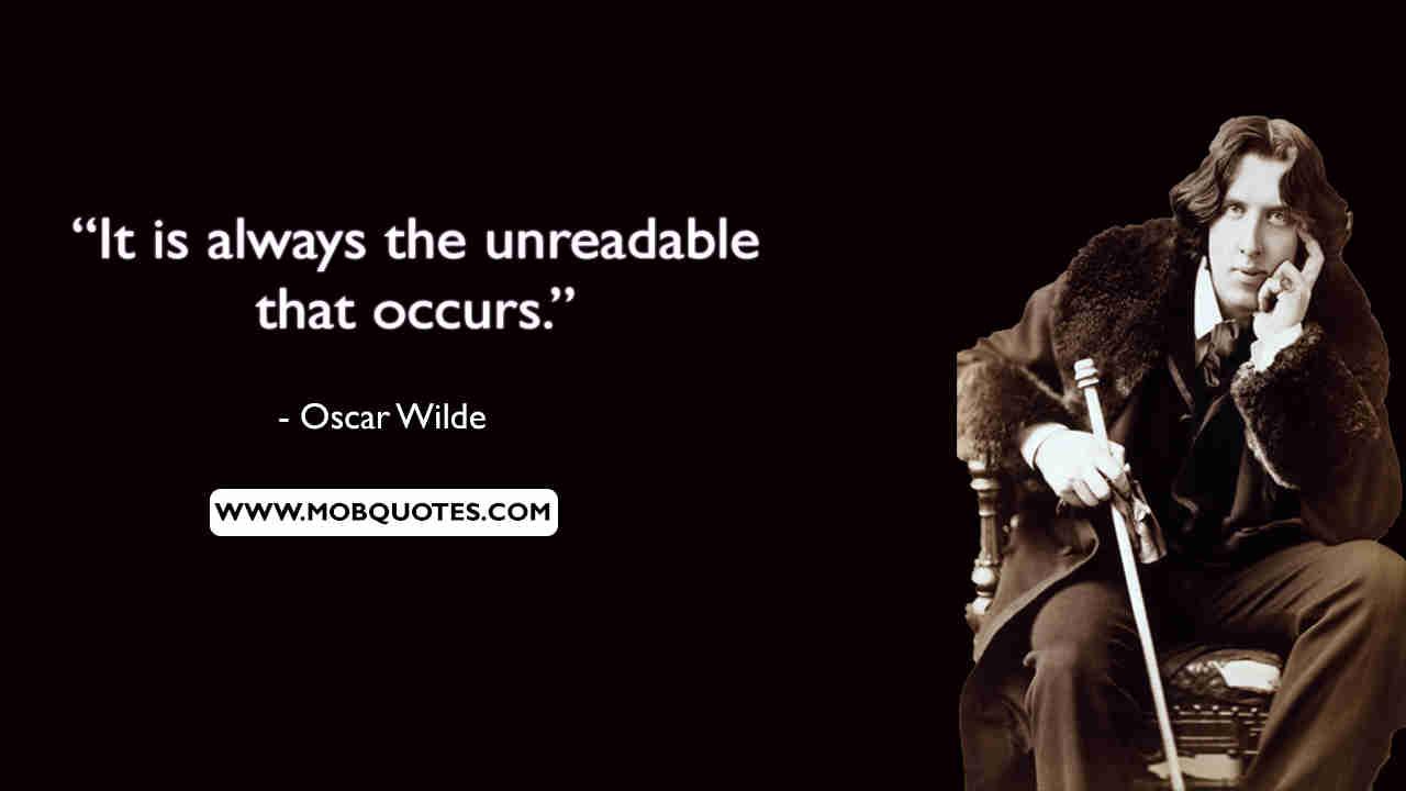 Oscar Wilde Quotes Life