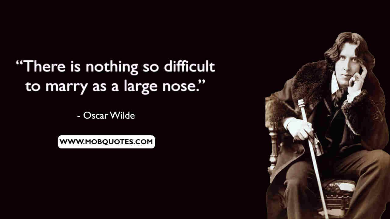 Oscar Wilde Quotes Mask