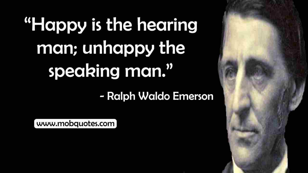 Ralph Waldo Emerson Quotes On Family