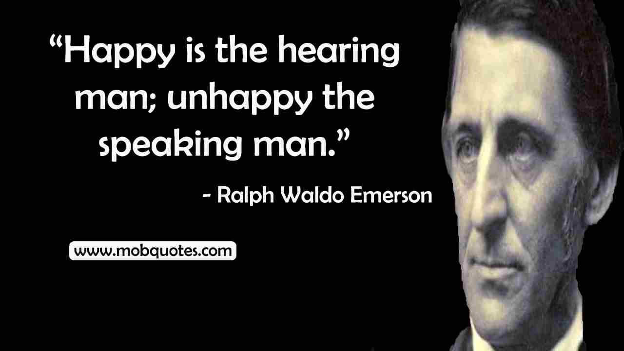 Ralph Waldo Emerson Quotes On Family