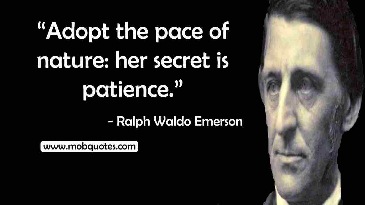 Ralph Waldo Emerson Quotes Self-Reliance