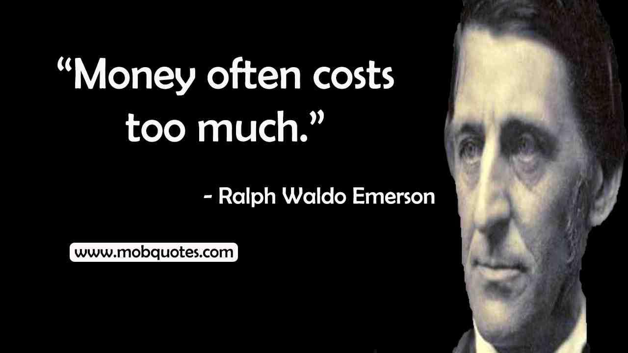 Ralph Waldo Emerson Quotes The Purpose Of Life