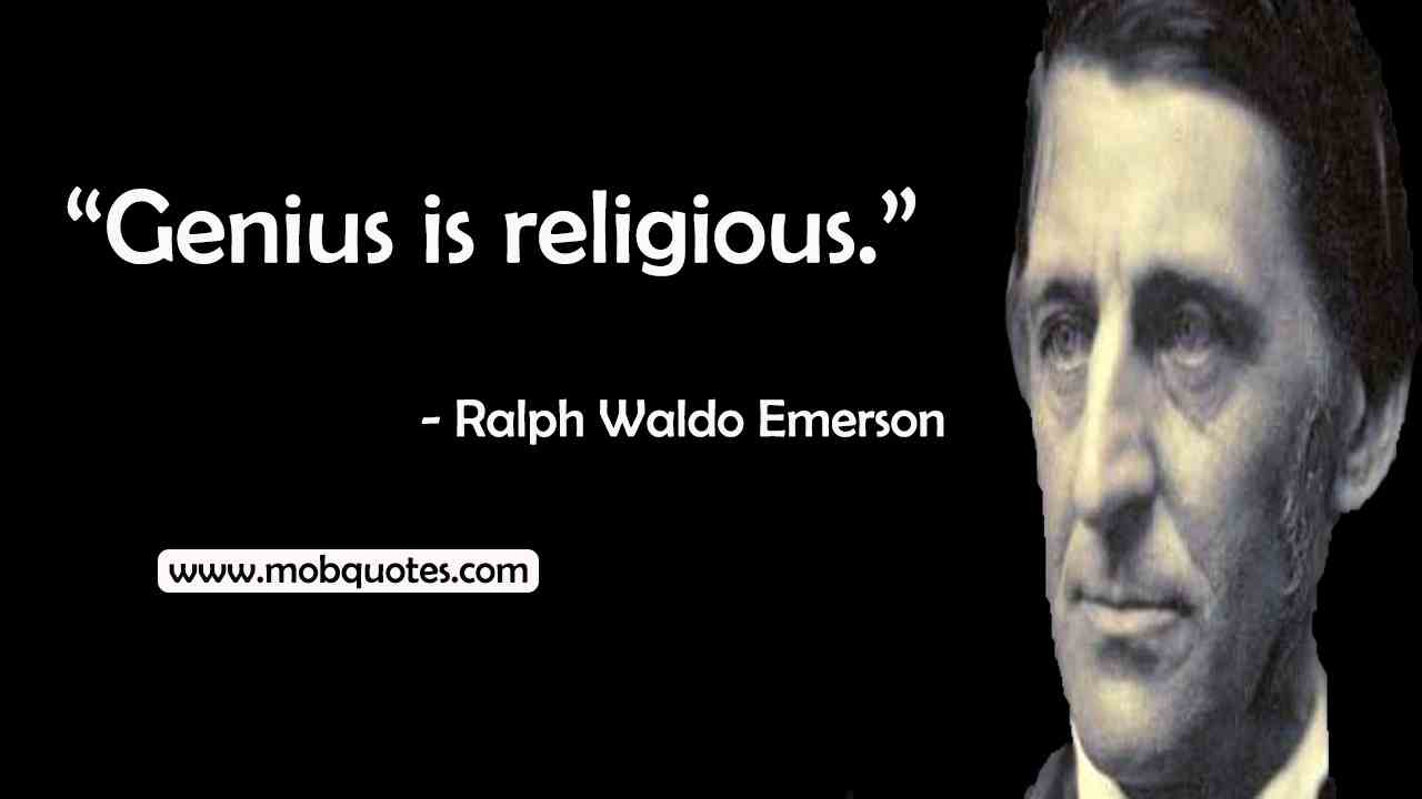Ralph Waldo Emerson Religion Quotes