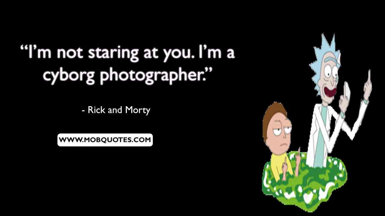 Rick and Morty Purge Quotes