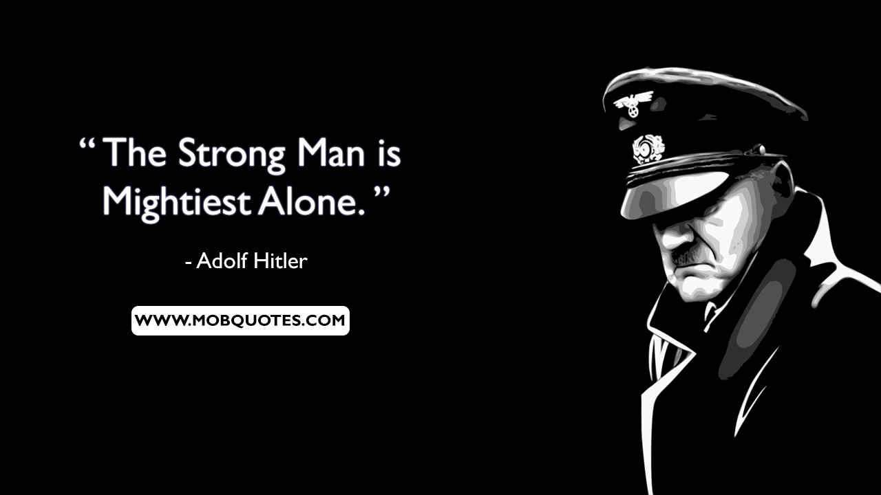Surprising Hitler Quotes