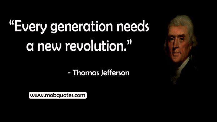 Thomas Jefferson quotes revolution