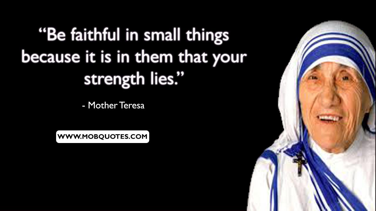 Volunteerism Quotes Mother Teresa