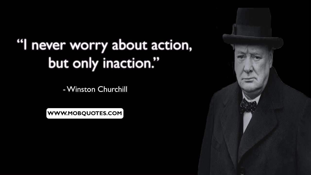 Winston Churchill Most Famous Quote