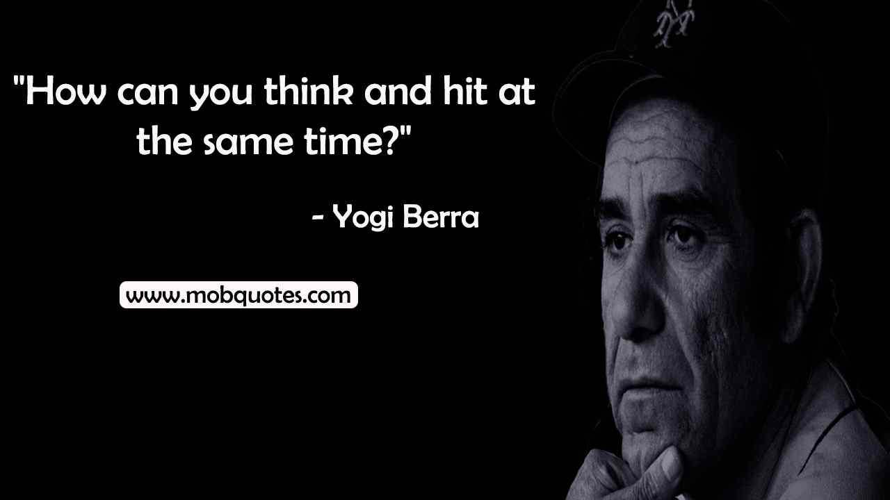 Yogi Berra quotes future