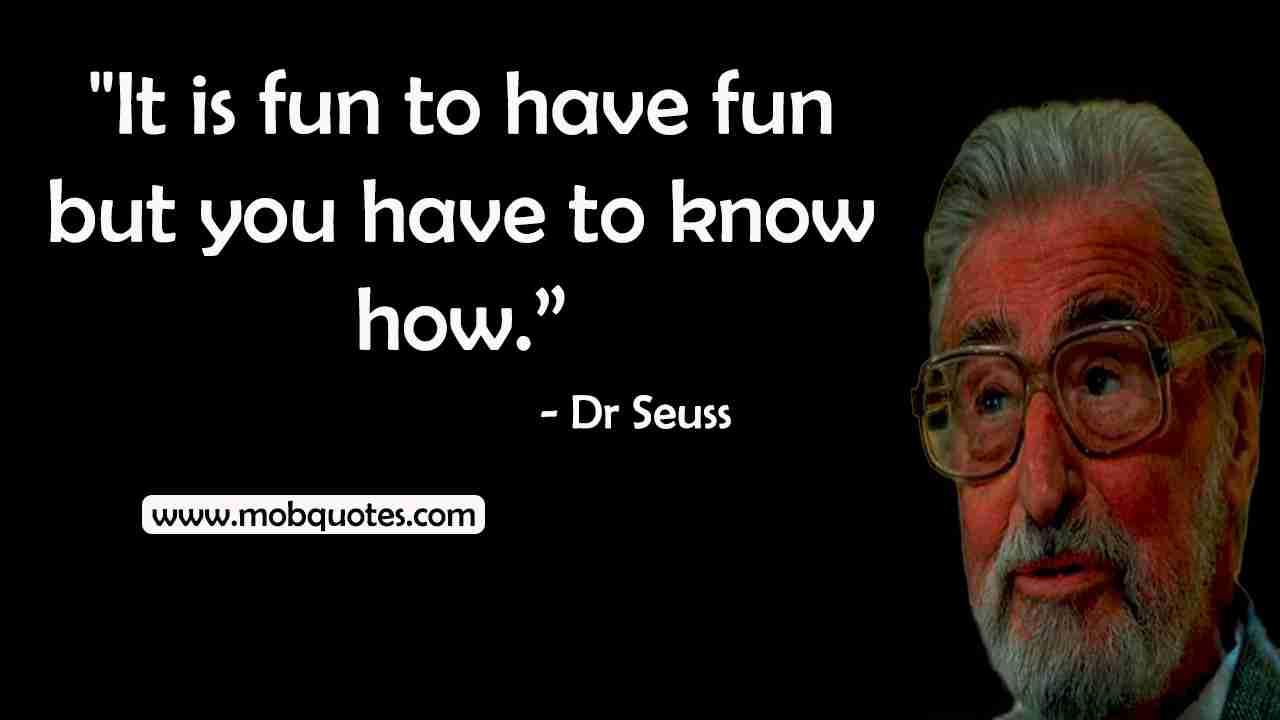dr Seuss quotes graduation