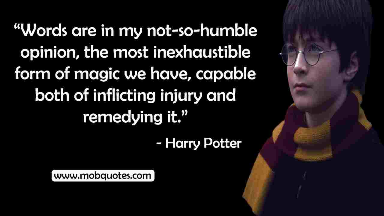 harry potter travel quotes