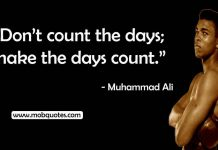 muhammad Ali training quote