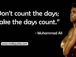 muhammad Ali training quote