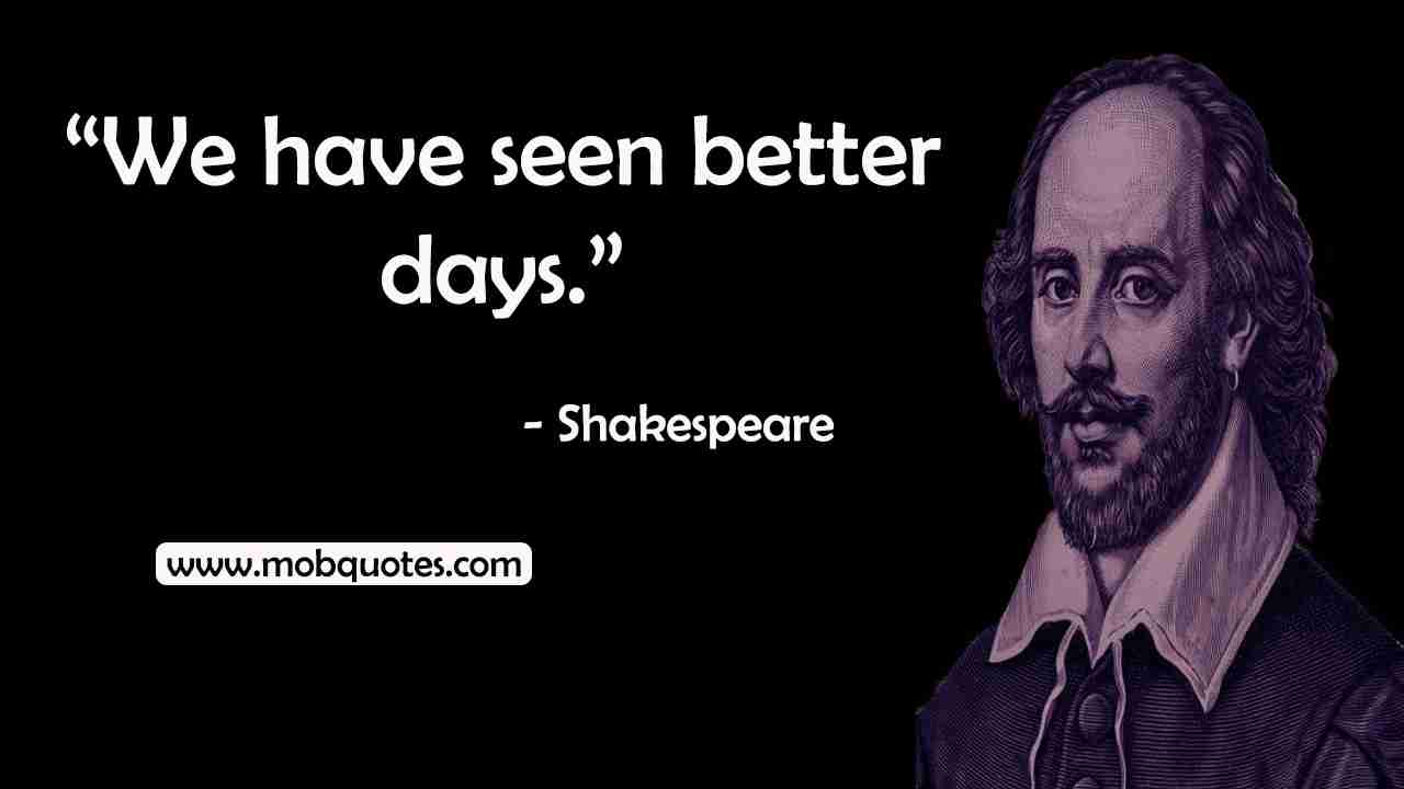 quotes by Shakespeare on life