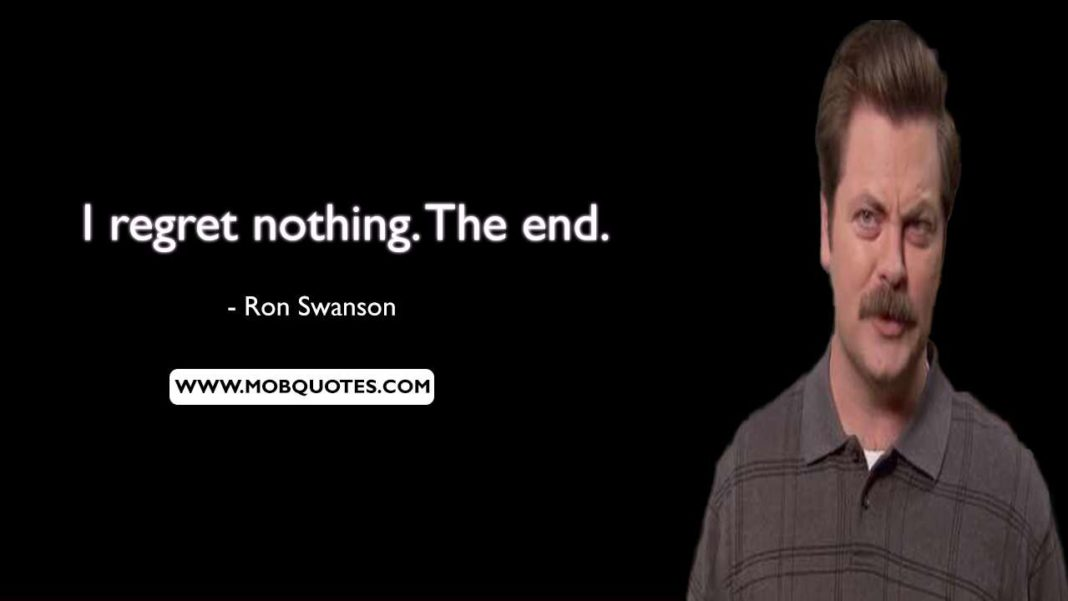 72 Inspirational Ron Swanson Quotes of All Time  Ron Swanson Quotes Salad