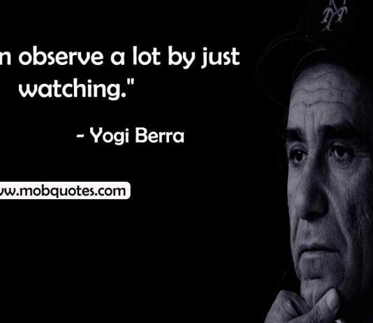 yogi Berra inspirational quotes